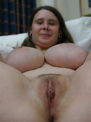 Innocent looking girl with enormous juggs gets fucked!
