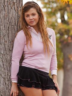teen model Keisha Grey